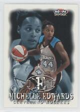 1999 WNBA Hoops Skybox #87 Michelle Edwards Cleveland Rockers (WNBA) Rookie Card