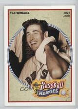 1992 Upper Deck Baseball Heroes #29 Ted Williams Boston Red Sox Card