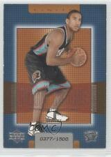 2003-04 Upper Deck Finite 222 Dahntay Jones Memphis Grizzlies RC Basketball Card