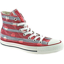 LADIES CONVERSE ALL STAR CANVAS BOOTS SIZE UK 3 - 8 HI VARSITY RED 537070C