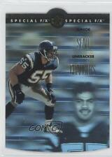 1996 SP Holoview Special F/X Die-Cut #5 Junior Seau San Diego Chargers Card