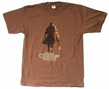 Texas Chainsaw Massacre Beginning Birth Of Fear Brown T Shirt New Official