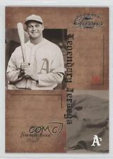 2004 Donruss Classics Legendary Jerseys LJ-34 Jimmie Foxx Philadelphia Athletics
