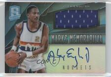 2013-14 Panini Spectra Marks Memorabilia Light Blue #13 Alex English Auto Card