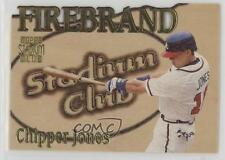 1997 Topps Stadium Club Firebrand Members Only #FB8 Chipper Jones Atlanta Braves