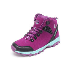 GOMNEAR women outdoor hiking boots athletic climbing waterproof  non slip shoes