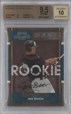 2008 Playoff Contenders #109 Mike Stanton BGS 9.5 Miami Marlins Auto Card