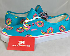 New! Vans x Odd Future Authentic Scuba Blue Donut Shoes OF Golf Wang SYNDICATE