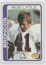 1978 Topps #144 Rob Lytle Denver Broncos RC Rookie Football Card