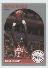 1990-91 NBA Hoops #424 Manute Bol Philadelphia 76ers Basketball Card