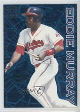 1996 Pacific Crown Collection Milestones M-8 Eddie Murray Cleveland Indians Card