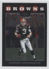 2008 Topps Chrome #TC18 Derek Anderson Cleveland Browns Football Card