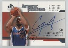 2003-04 SP Signature Edition Authentic Signatures AS-CM Corey Maggette Auto Card