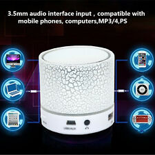 Creative LED MINI Wireless Bluetooth Speaker TF USB Music Sound Subwoofer Box