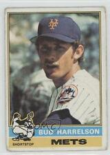 1976 Topps #337 Bud Harrelson New York Mets Baseball Card