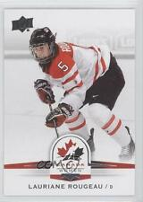 2014-15 Upper Deck Team Canada Juniors #82 Lauriane Rougeau (National Team) Card