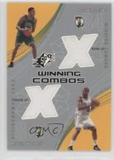 2002-03 SPx Winning Combos #PP/AW Paul Pierce Antoine Walker Boston Celtics Card