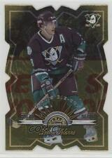 1997-98 Leaf Fractal Matrix Die-Cut #18 Teemu Selanne Hockey Card