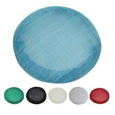 Round Hat Base Sinamay Bowler Derby Accessories for Fascinators Hats Craft Use