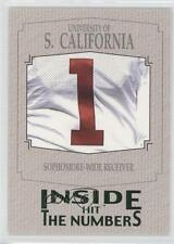 2004 SAGE Hit Inside the Numbers Emerald #2 USC Wide Receiver (Mike Williams)