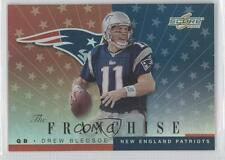 2001 Score The Franchise #TF-8 Drew Bledsoe New England Patriots Football Card