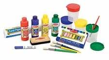 Melissa And Doug Easel Art Supplies Painting Accessory Set Paper Roll Set Of 2