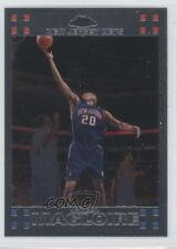2007-08 Topps Chrome #75 Jamaal Magloire New Jersey Nets Basketball Card
