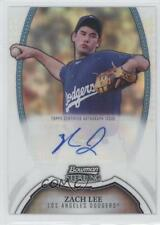 2011 Bowman Sterling MLB Future Stars Autographs Refractor #BSP-ZL Zach Lee Auto