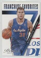 2014 Panini Prestige Franchise Favorites #13 Blake Griffin Los Angeles Clippers