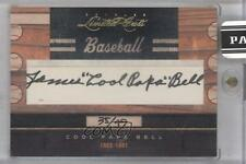 2011 Donruss Limited Cuts Cut Signatures Autographed 68 Cool Papa Bell Auto Card
