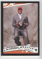 2005-06 Topps Black #226 Martell Webster Portland Trail Blazers Basketball Card