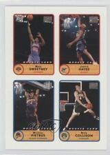 2003-04 Bazooka 52 Mike Sweetney Mickael Pietrus Nick Collison Jarvis Hayes Card