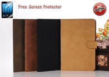 iPad Air 1 Case Leather Folding Folio Case FREE PROTECTOR INCLUDED