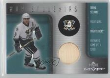 2001-02 Upper Deck MVP S-15 Teemu Selanne Anaheim Ducks (Mighty of Anaheim) Card