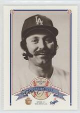 1989 Smokey Bear A Century of Dodger Greats 84 Mike Marshall Los Angeles Dodgers