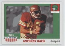 2005 Topps All American Retired Edition #89 Anthony Davis USC Trojans Card