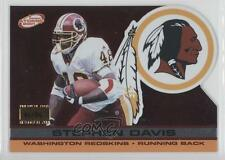 2001 Pacific Prism Atomic Premiere Date #146 Stephen Davis Washington Redskins