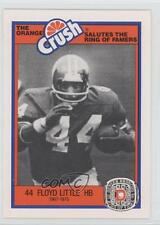 1987 Orange Crush Denver Broncos Ring of Famers #FLLI Floyd Little Football Card