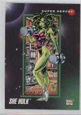 1992 Impel Marvel Universe Series 3 #16 She-Hulk Non-Sports Card 2a7