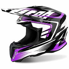 2017 Airoh Twist Motocross Helmet - Mix Pink