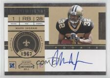 2011 Playoff Contenders #213.1 Mark Ingram (Base) New Orleans Saints Auto Card