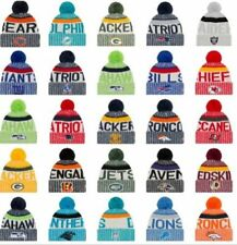 Patriots NFL Rugby NRL NFL New 2017 American Football & Rugby Bobble Beanie Hat
