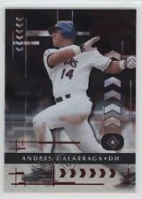 2001 Playoff Absolute Memorabilia #58 Andres Galarraga Texas Rangers Card