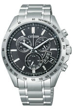 Citizen Eco-Drive Chrono Global Radio Controlled Sapphire Japan Watch BY0130-51E