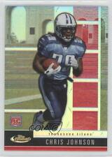 2008 Topps Finest #116 Rookie Refractors Chris Johnson Tennessee Titans Card