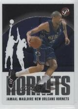 2003-04 Topps Pristine #61 Jamaal Magloire New Orleans Hornets Pelicans Card