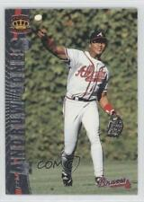1997 Pacific Crown Collection Silver #234 Andruw Jones Atlanta Braves Card