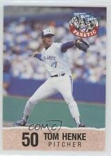 1992 Toronto Blue Jays Fire Safety #50 Tom Henke Baseball Card