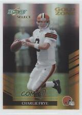 2007 Score Select Gold Zone #195 Charlie Frye Cleveland Browns Football Card