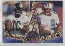 1998 Pacific Omega Face to #9 Kordell Stewart Steve McNair Pittsburgh Steelers